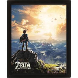 Cadre The Legend of Zelda Effet Animé 3D