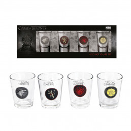 Shooters Game of Thrones - Lot de 4