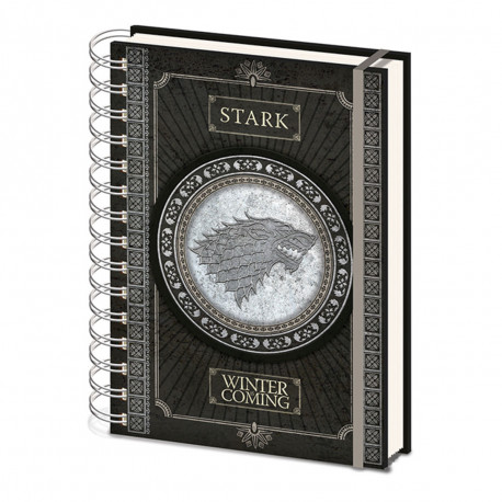 Carnet à Spirales Game of Thrones Stark