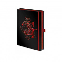 Carnet de Notes Premium Harry Potter - Maisons