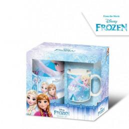 Set Mug et Couverture Polaire La Reine des Neiges