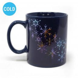 Mug Thermoréactif La Reine des Neiges 2 - Flocons de Neige