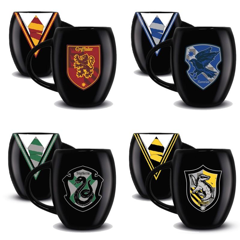 Grand Mug Harry Potter Uniforme Et Blason Maison Poudlard Sur