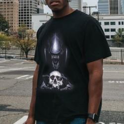 T-Shirt Alien Tête de Mort