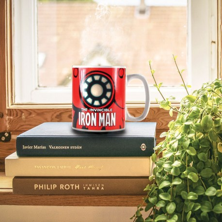 Mug Thermoréactif Iron Man Invincible Marvel