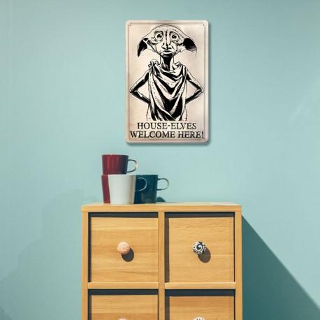 Plaque Métallique 3D Harry Potter - Dobby