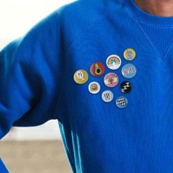 Méli-Mélo de Badges Funs - Lot de 10