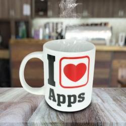 Mug I Love Apps