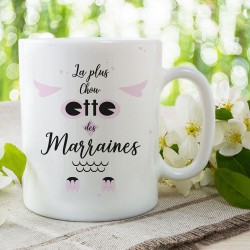 Mug Marraine - La Plus Chouette des Marraines