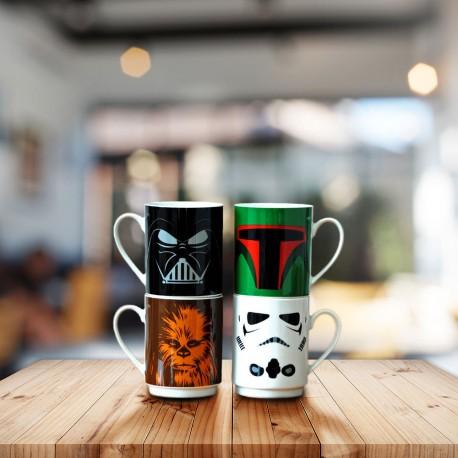 Tasses Empilables Personnages Star Wars