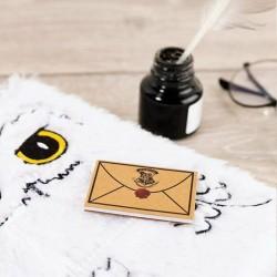 Carnet de Notes Harry Potter Chouette Hedwige Fourrure