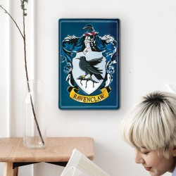 Plaque Métallique 3D Harry Potter - Serdaigle