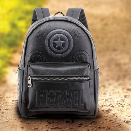 Sac à Dos Captain America Logo Marvel Premium