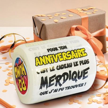 Papier Toilette Pour Ton Anniversaire... Cadeau Merdique