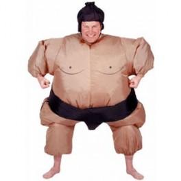 Devenez un sumo en enfilant ce costume terriblement loufoque et original ! Organisez des combats de sumotoris avec vos amis et soyez le plus fort !