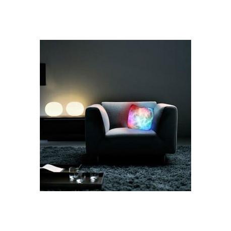 Coussin Lumineux Multicolore
