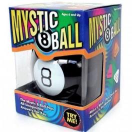 Ne laissez pas vos questions sans réponses... Adoptez cette Magic 8 Ball qui répondra à toutes vos interrogations du moment ! Elle vous aidera peut-être à prendre la bonne décision ? Un cadeau terriblement insolite !