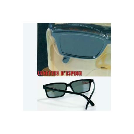 Entrez dans la peau d'un véritable espion en enfilant ces lunettes de soleil d'espionnage ! Vous allez pouvoir observer derrière vous sans vous retourner...