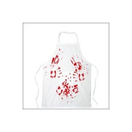 Sortez de votre cuisine vêtu de ce tablier ensanglanté et effrayez vos invités à coup sûr ! Vous allez faire frissonner toute l'assemblée avec votre allure de boucher...