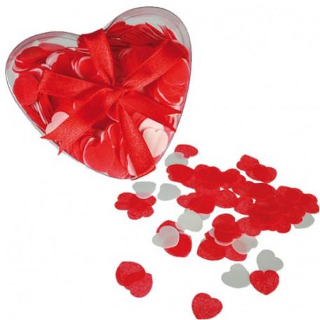 confettis cœur de bain parfumé love heart romantique