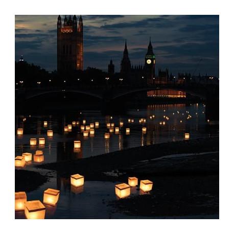 Le soir, en compagnie de votre moitié, rien n'est plus romantique que de voir des lanternes flottantes voguer sur l'eau... Profitez de cette ambiance magique !