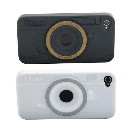 Protégez votre iPhone de façon classe et humoristique ! Cet étui va transformer l'apparence de votre Smartphone en appareil photo très chic !