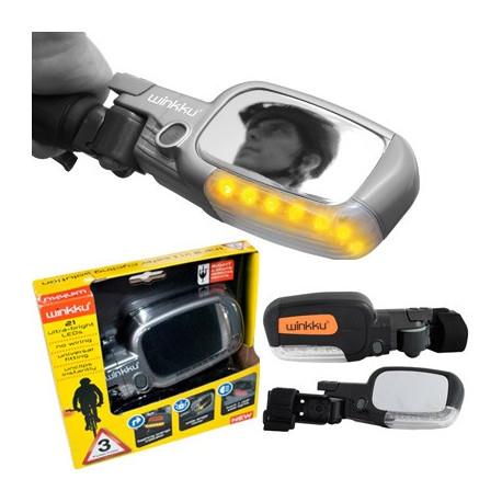 Winkku, la solution pour une sécurité optimale lorsque vous allez faire un tour de vélo ! Prévenez les autres usagers de la route de vos intentions !