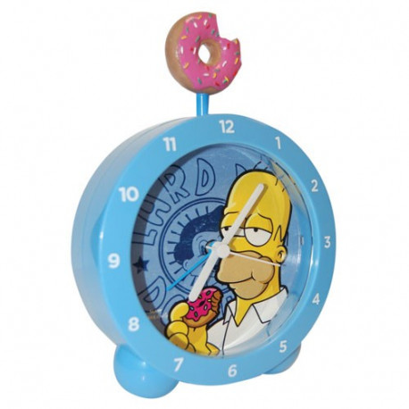 Réveillez-vous le matin avec ce Donuts Simpsons très appétissant ! Décoratif et très original, ce réveil va vous mettre de bonne humeur pour toute la journée...
