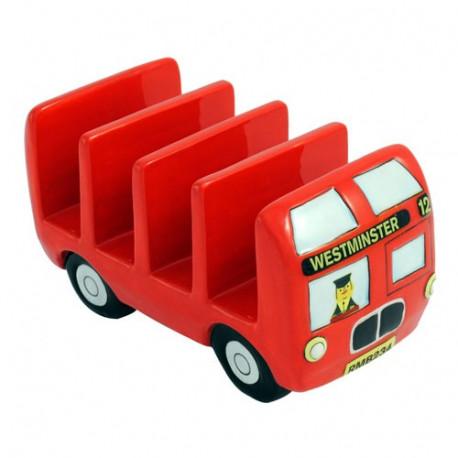 porte toast au design de bus londonnien