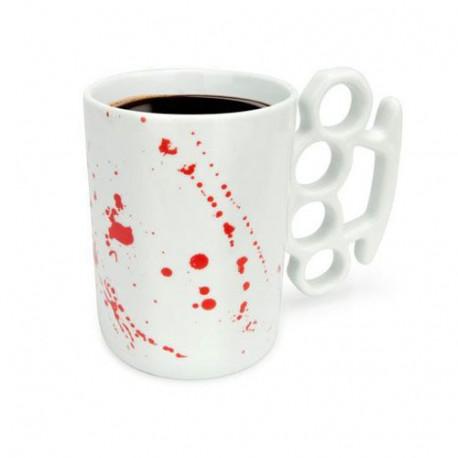 mug poing américain version limité ensanglanté