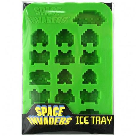 moule à glaçon forme space invaders