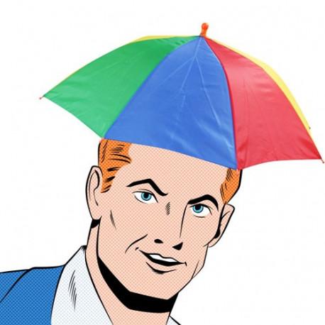 Baladez-vous sous la pluie sans avoir le souci de porter votre parapluie ! Il vous laisse les mains libres pour porter vos paquets ou votre sac à main !