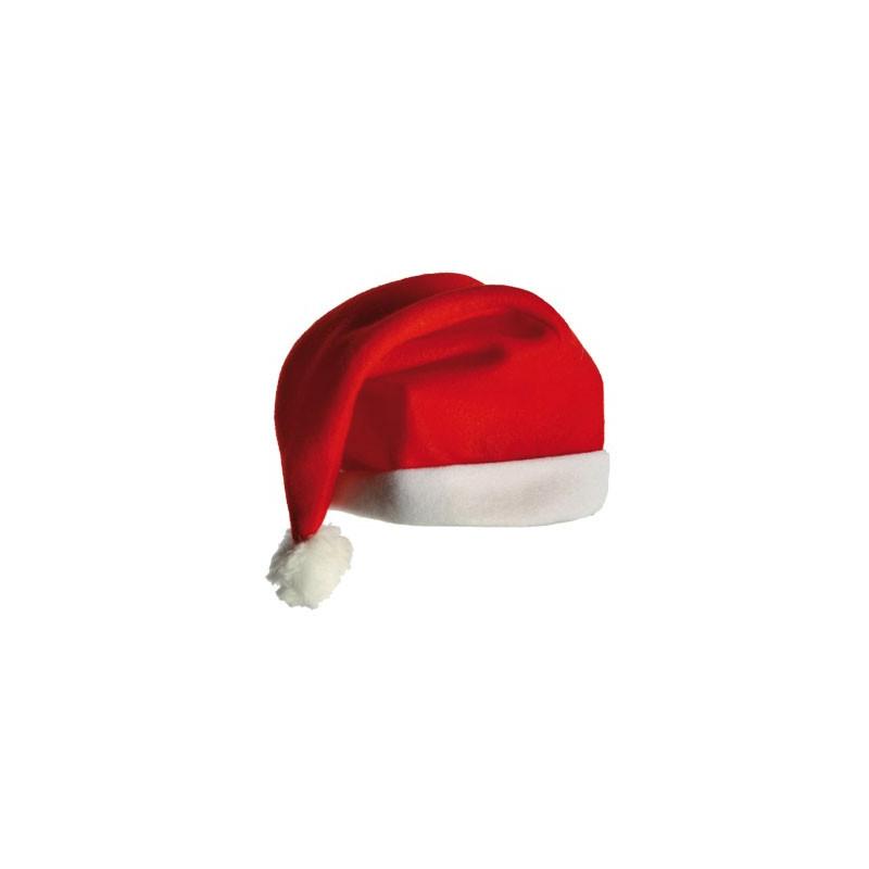 Déguisez-vous en Père-Noël avec ce bonnet de Noël traditionnel souple ! Faites plaisir aux tout petits en recréant la magie de Noël...