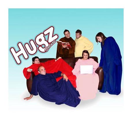 Voici une bonne occasion de se lover dans une couverture douce et bien chaude... Profitez de la chaleur de ce plaid avec des manches devant la télévision ou l'ordinateur !