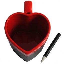 Mug Ardoise Coeur