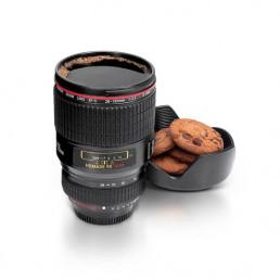 Mug Objectif Appareil Photo Noir