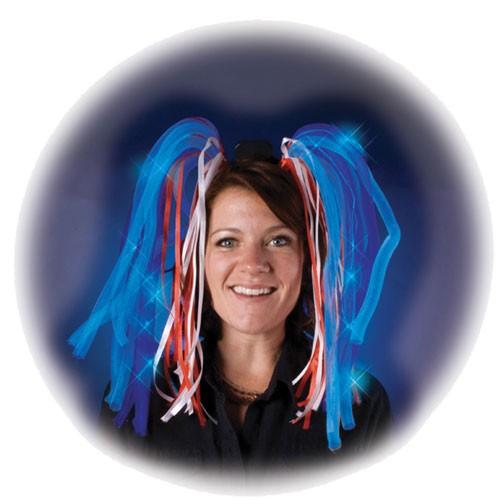 Perruque dreadlocks lumineuses mettez de la lumi re dans vos cheveux lors de vos soir es achat - Cadeau jeune marie ...