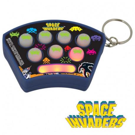 porte-clés du jeu d'arcade space invaders