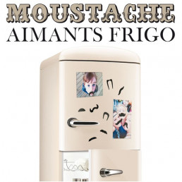 Aimants pour Frigo Moustaches
