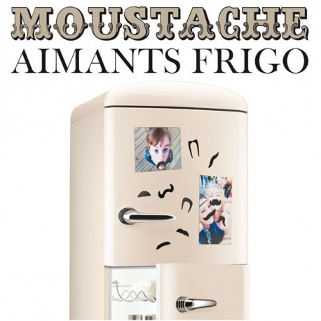 Aimants pour Frigo Moustaches