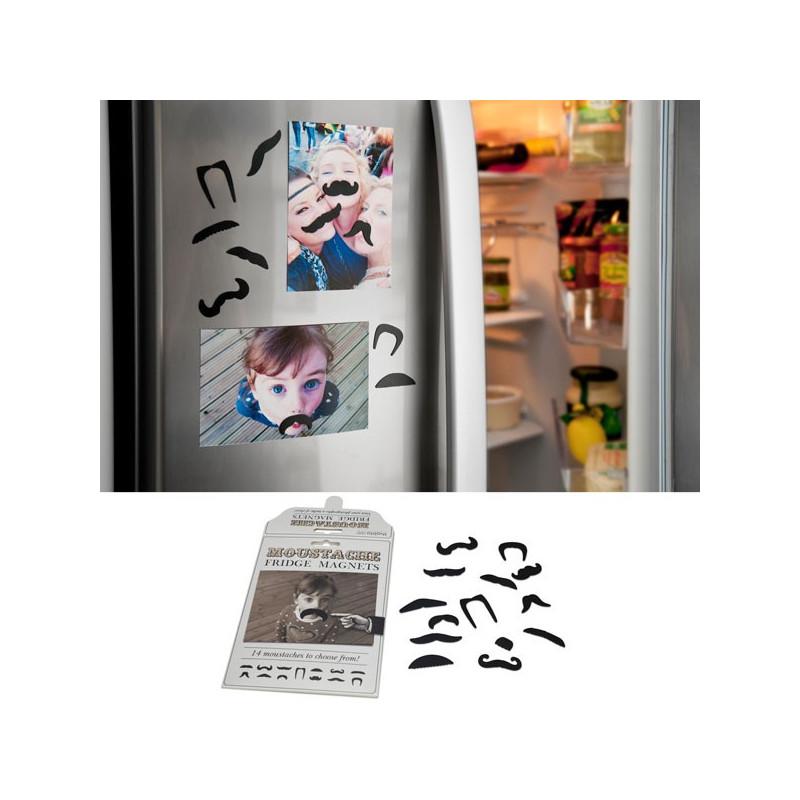 aimants pour frigo moustaches id e cadeau insolite achat rapid. Black Bedroom Furniture Sets. Home Design Ideas