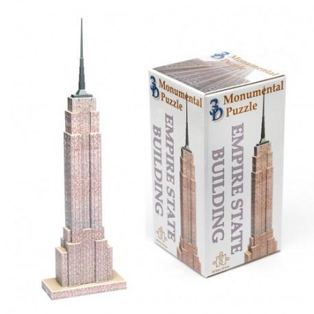 Voici un défi de taille à relever pour tous les amateurs de puzzles ! Construisez votre Empire State Building personnel, avec cette version 3D.