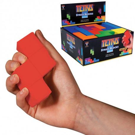 Blocs Tetris anti-stress colorés