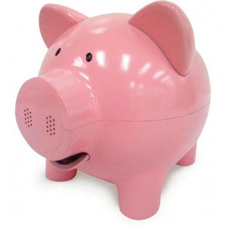 Rien de tel qu'un véritable petit cochon pour garder vos économies bien au chaud dans son ventre ! Cette tirelire à la fois traditionnelle et innovante va ravir toute la famille !
