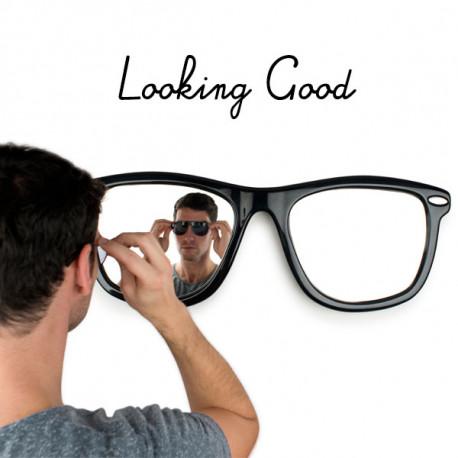 lunettes miroir mural looking good d'un mètre de large
