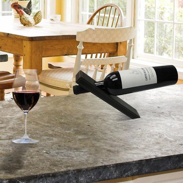support magique bouteille de vin achat cadeau f te des p res et pour les amateurs de vin. Black Bedroom Furniture Sets. Home Design Ideas