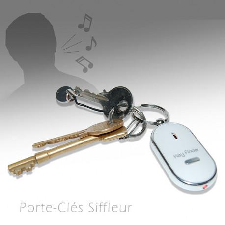 Egarer ses clés est quelque chose de vraiment très irritant... Ne perdez plus jamais vos clés avec ce gadget insolite qui s'illumine et fait du bruit lorsque vous sifflez. Ce petit gadget siffleur vous facilitera la vie !