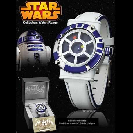 montre star wars r2d2 collector achat montre tendance et geek star wars rapid cadeau. Black Bedroom Furniture Sets. Home Design Ideas