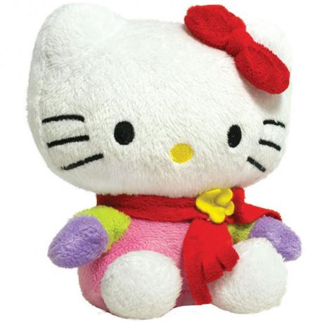 la peluche chauffe-mains sous licence officielle hello kitty pour les amateurs girly de la célèbre chatte