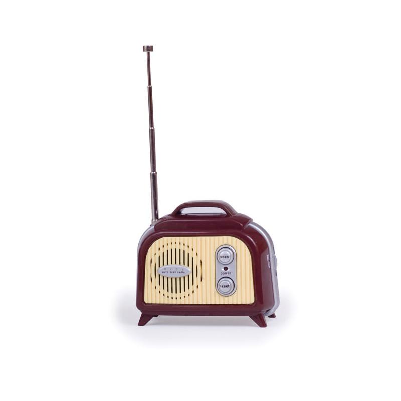 cette radio rétro au design vintage d'antan plaira aux amateurs de musique et d'objets rétro